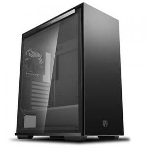 Deepcool Macube 310P Gamerstorm Cabinet With Tempered Glass Side Panel  Black Case