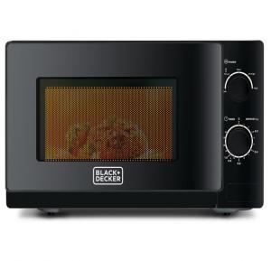 Black & Decker 20 Ltr Microwave Oven (Black), MZ2020P-B5