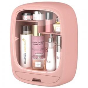 Wall Mounted Cosmetic Drawer Storage Box Pink
