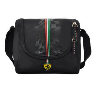 Ferrari Silver horse Black Lunch Bag 1 Part - SLSH07030