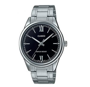 Casio MTP-V005D-1B2UDF Men Analog Black Dial Stainless Steel Watch