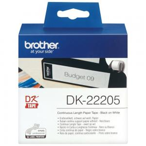 Brother DK22205 Continuous Length Paper Tape 62mm