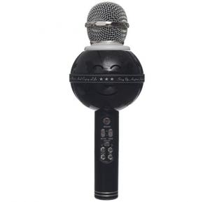 WSTER Karaoke Wireless Microphone HiFi Speaker WS-878 - Black