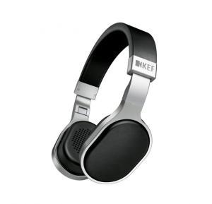 KEF Hi-Fi Headphones w/Mic & Remote - Aluminum-Black,KEF M500