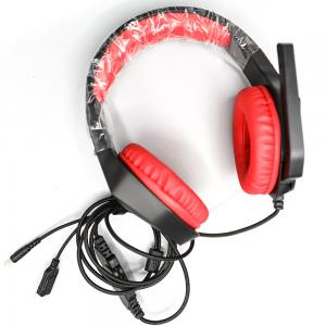 Hezire H-FEX Pro Gaming and E-learning Headset Black and Red