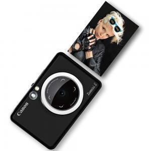 Canon Zoemini S Instant Camera And Photo Printer, Matte Black