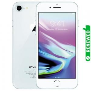 Apple iPhone 8 With FaceTime Silver 64GB 4G LTE Renewed- S