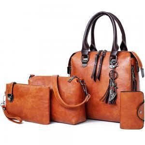 Generic 4 in 1 womens new bag set, Tan color
