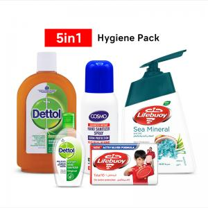 5 in 1 Hygiene Pack