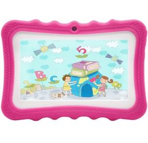 T-pad 260 Kids 7 Inch Tablet,Quard Core,1GB Ram 8 GB storage,Wifi,Bluetooth,Andriod 6.0, Touch Pink color,T260