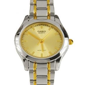 Casio LTP-1275SG-9ADF Stainless Steel Dress Watch