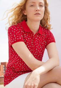 Springfield Fashion Womens T-Shirt Red With Multi Dots, Size M