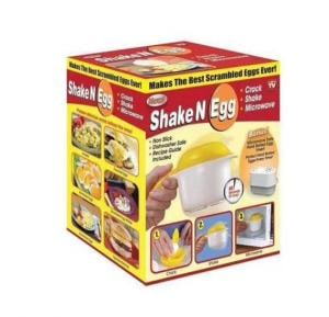 OSP Shake n Egg Steamer Oil-Free Egg Steamer Egg Yolk Separator
