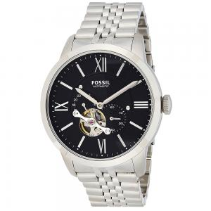 Fossil Townsman Analog Black Dial Gents Watch, ME3107