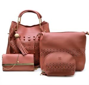 4 in 1 Ladies Bag set 064 Rose, Alghafri