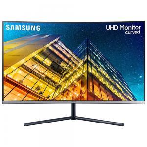Samsung LU32R590CWMXUE LED 32 inch UHD Curved 4K Monitor