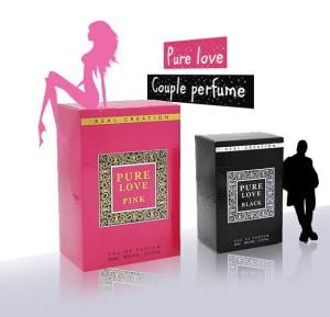 IP Pure love Couple perfume Set for Men and Women 80 Ml