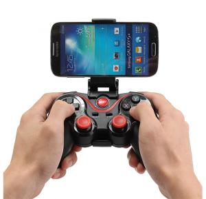 C8 Wireless Bluetooth 3.0 Game pad controller with holder and reciever for Smart tv , mobile phones and tablets