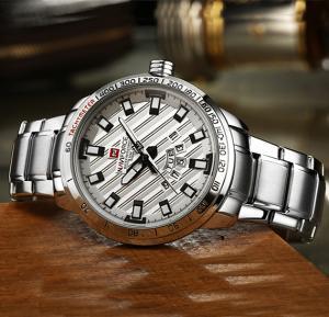 NAVIFORCE Stailess Steel Watch For Men - 9090