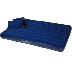 Intex Inflatable Airbeds with High Output Hand Pump and Inflatable Pillow, 68765
