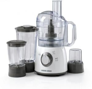 Black & Decker Food Processor With Blender, Mincer&Grinder 400W - FX400BMG-B5