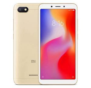 Xiaomi Redmi 6A, Dual SIM, 16GB, 2GB RAM, 4G LTE, Gold (Global Version)