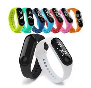 Led Wristband Student Watch Assorted Color