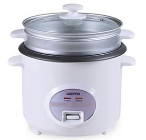 Geepas Deluxe Rice Cooker 1.8L N/s Inner pot 1x4 GRC35018UK