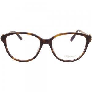 Chopard VCH245S Havana Oval Women Eyeglasses, Brown