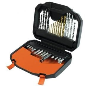 Black & Decker 30 Pc New Family Set - Titanium Bits, A7183-XJ
