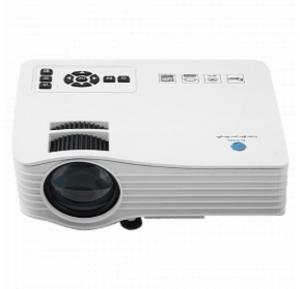 BSNL A36 LED Projector, WiFi Ready With HDMI, IR, AV, USB, SD Card Slot, With Remote Control - White