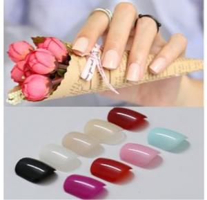 Nail Multicolor Natural Shape Art Nail Tips 20PCSx24PCK - QM-KP6033
