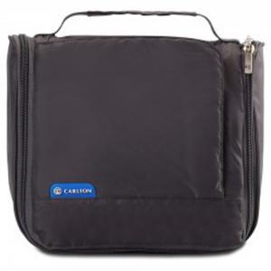 Carlton Toikit, Travel Safe Toiletry Kit, Grey