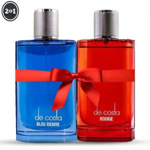 2 In 1 De Costa Blue Desire EDP for Men 100ml And De Costa Rouge Eau de perfume for Men 100ml