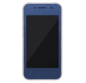 Enes G9 3G Smartphone, Android, 4GB Storage,1GB RAM, Dual Sim-Blue