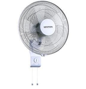 Krypton 16 Inch Wall Fan 3 Speed Oscillation, KNF6111