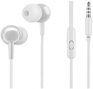 Hoco initial sound universal earphones with mic,White, M14