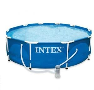 Intex 28212 Metal Frame Swimming Pool - Blue