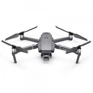 Dji Mavic 2 Zoom With Integrated Camera 12MP 4K HD Professional Drone Combo, Silver