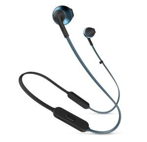 JBL Tune 205BT On Ear Bluetooth Headset, blue