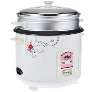 Sanford Electric Rice Cooker 1.8Liter, SF2501RC-BS