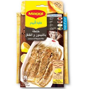 Maggi Juicy Chicken Lemon & Pepper 27 Gram