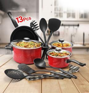 Olympia 13 PCS Non-Stick  Cookware Sets, OE-1313