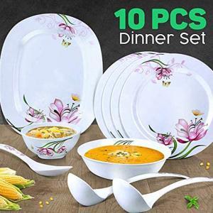 Royal Mark 10 Pcs Melamine Dinner Set, RMDS-9711