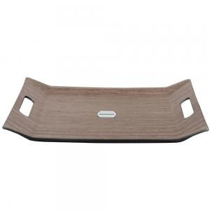 Royalford Wooden Finish Serving Tray 37x28CM