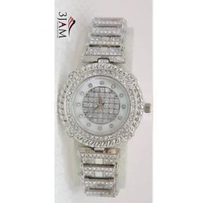 3 Jam Ladies Fashion Watch Stone 3J94