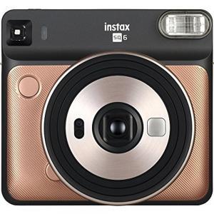 Fujifilm Instax Square SQ6 Instant Film Camera, MFFPIINCSQ6BG, Blush Gold