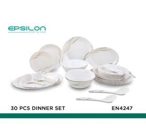 Epsilon 30 pcs melamine dinner set - EN4247