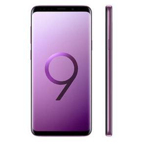 Samsung Galaxy S9+ 4G Smartphone, 6.2 inch Display, Android, 6 GB RAM, 64 GB Storage, Dual SIM, Dual Camera - Lilac Purple