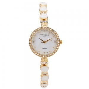 Mount Royale Womens Stainless Steel Analog Watch 1595GPW